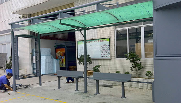 station bus shelter ad customization service