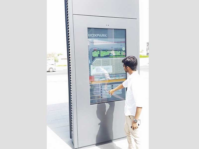 YEROO-Manufacturer Of Outdoor Digital Signage Parking Lot Outdoor Lcd Touch Kiosk-14