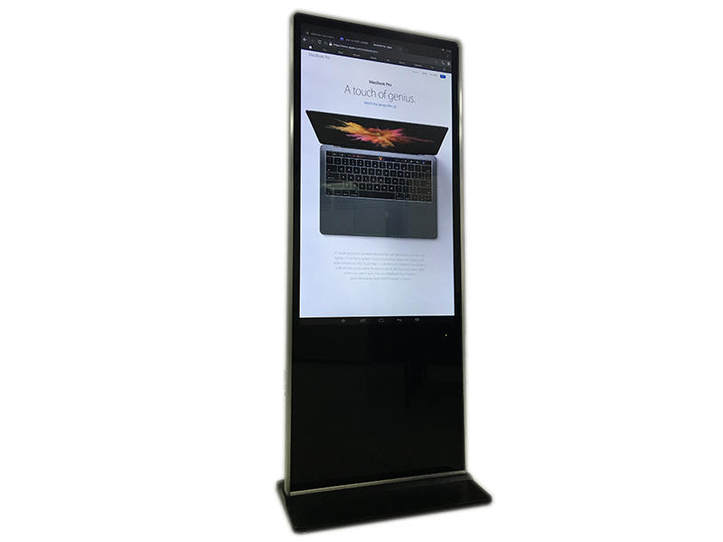YEROO floor digital kiosk advertising pos for store-3