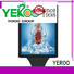 YEROO standing light box customized design for market
