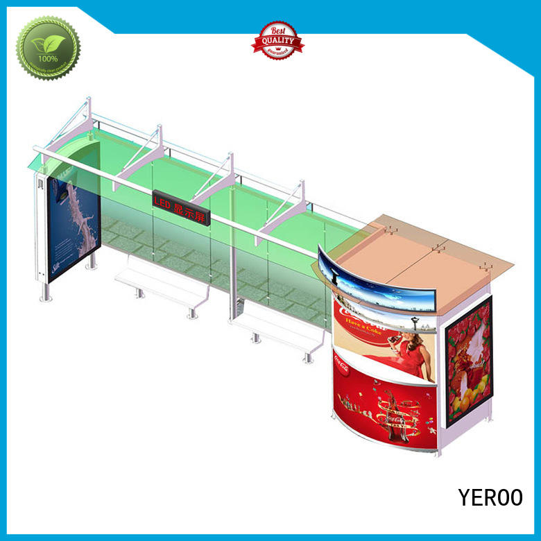 Wholesale mobile for bus stop advertisment YEROO Brand