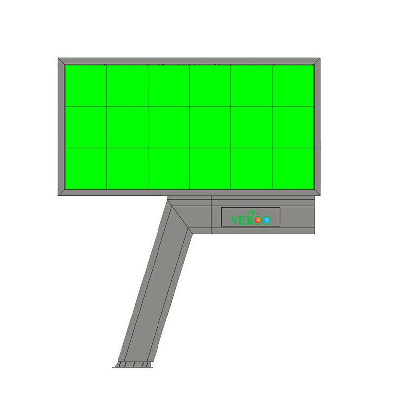 Outdoor single side  LED screen billboard