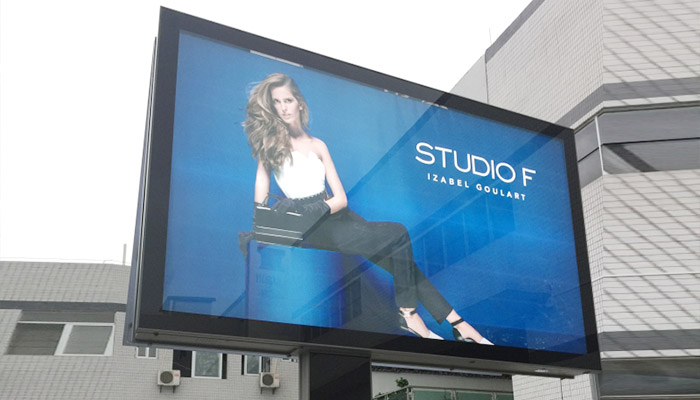 scrolling billboard cantilever outdoor marketing-19