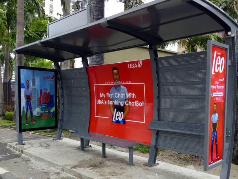 Nigeria bus shelter