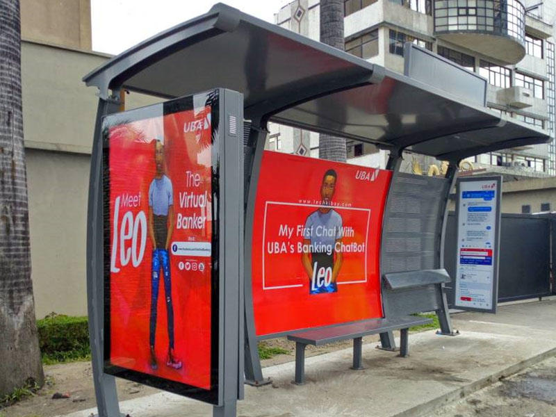 Nigeria bus shelter