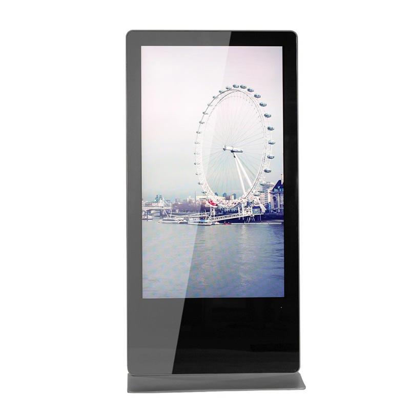 Indoor Floor Standing LCD Advertising Display