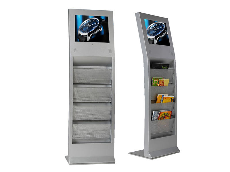 YEROO floor digital kiosk advertising pos for store