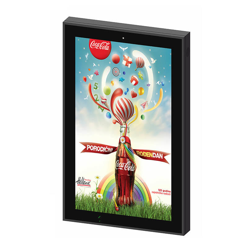 Outdoor wall mounted LCD Advertising Display