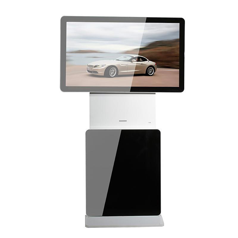YR-LR-0001 Indoor Rotating Screen Advertising LCD Display YR-LR-0001