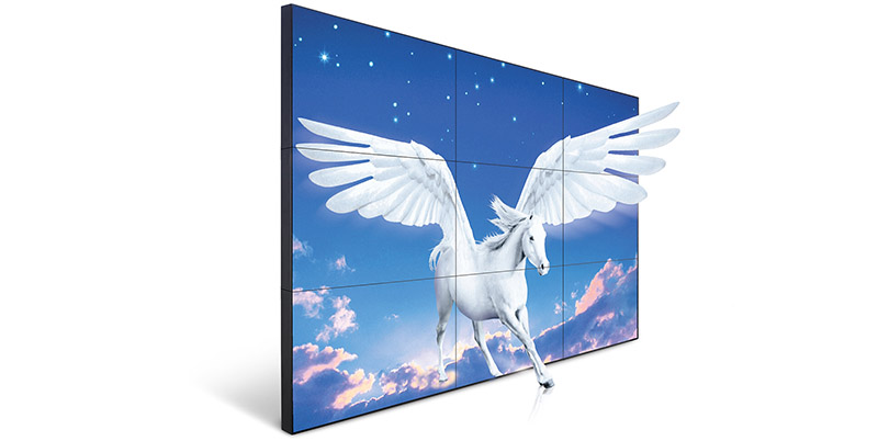 YEROO-Video Wall Screen Manufacture | Super Narrow Bazel Wall Mounted