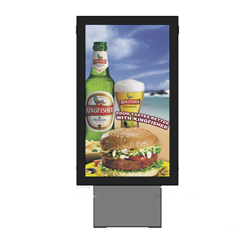 Advertising double sided scrolling light boxYR-SCLB-0001
