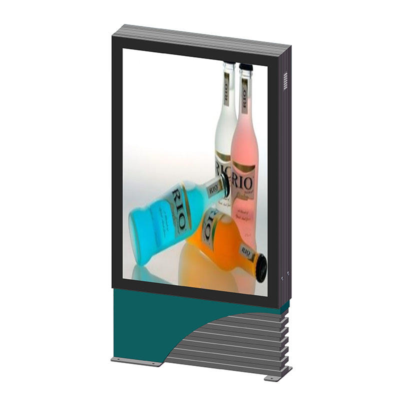 YR-SCLB-0002 Aluminium outdoor double sides scrolling light box