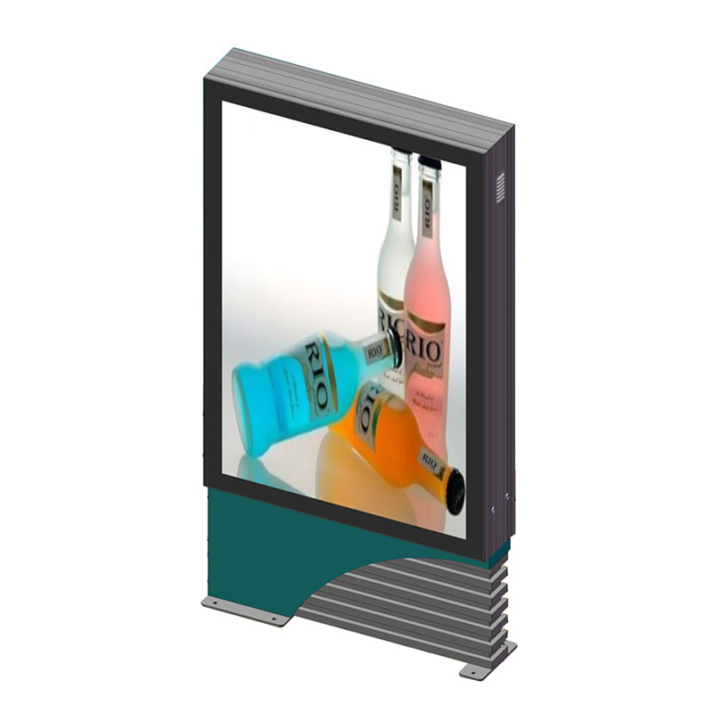 YEROO-Indoor Light Box, Aluminium Outdoor Double Sides Scrolling Light Box Y-1
