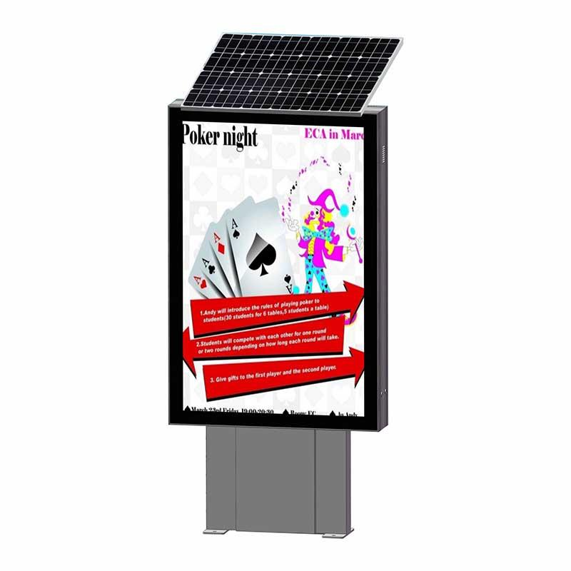 YR-SLB-0002 Factory wholesale energy save solar advertising light box