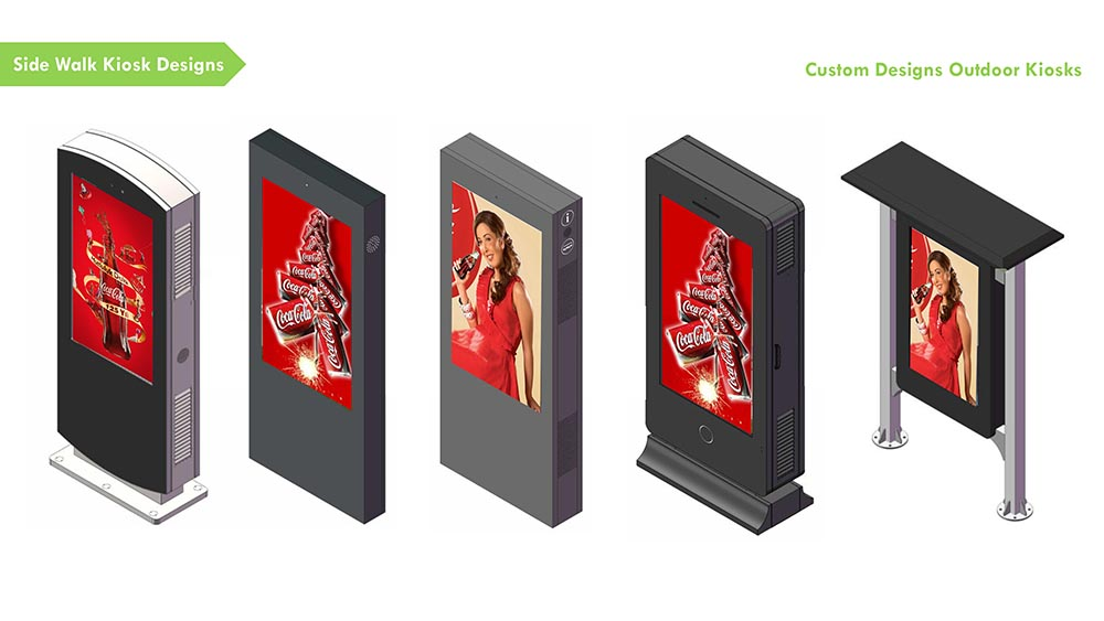 YEROO-High-quality Digital Kiosk | Outdoor Floor Standing Touch Lcd-10