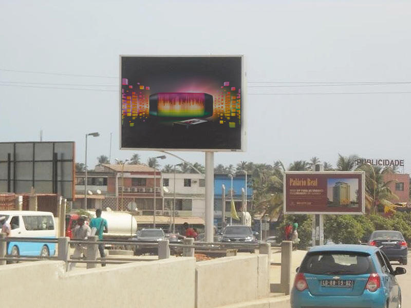 Angola backlit billboard