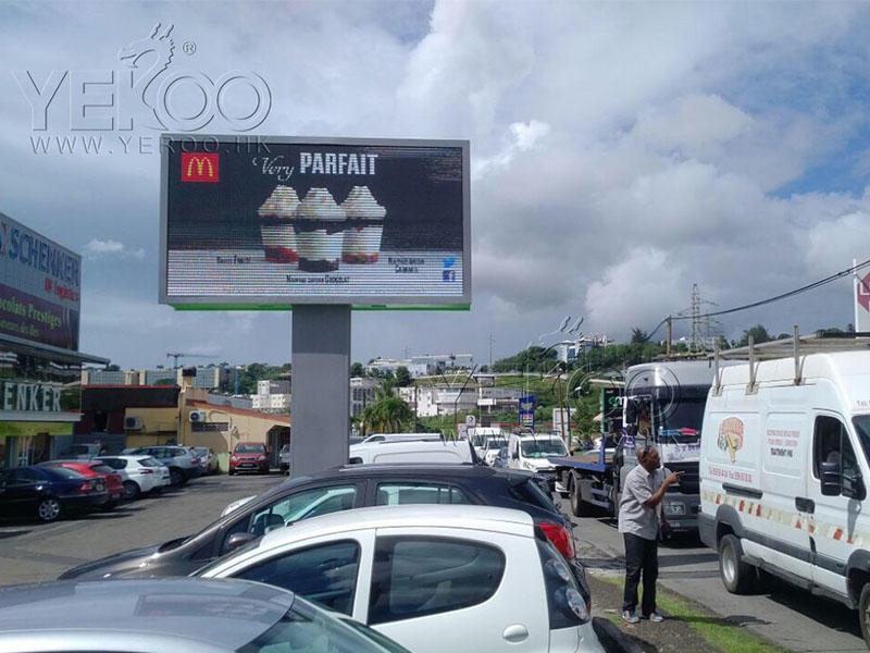 Antigua LED screen billboard