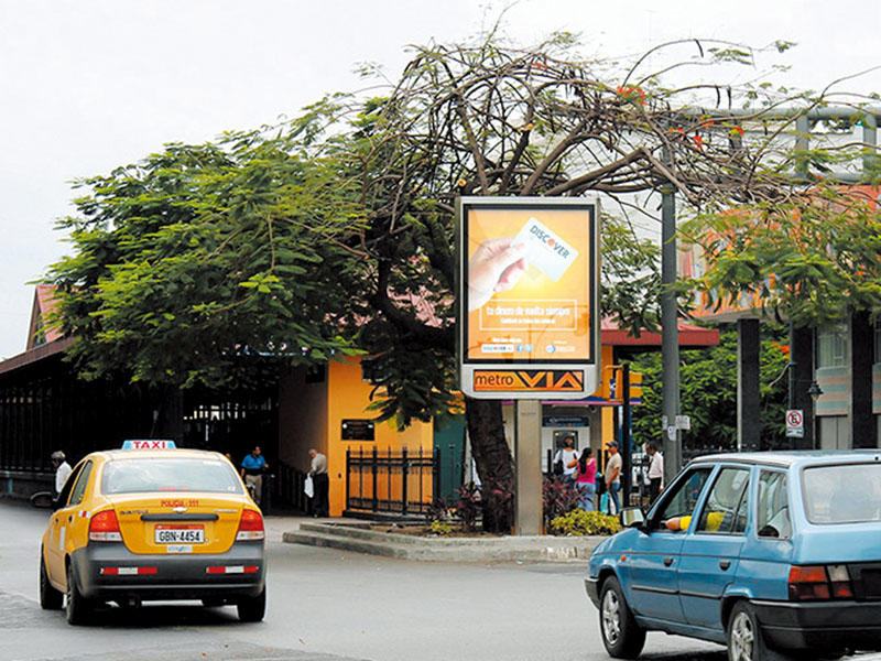 Ecuador digital billboard