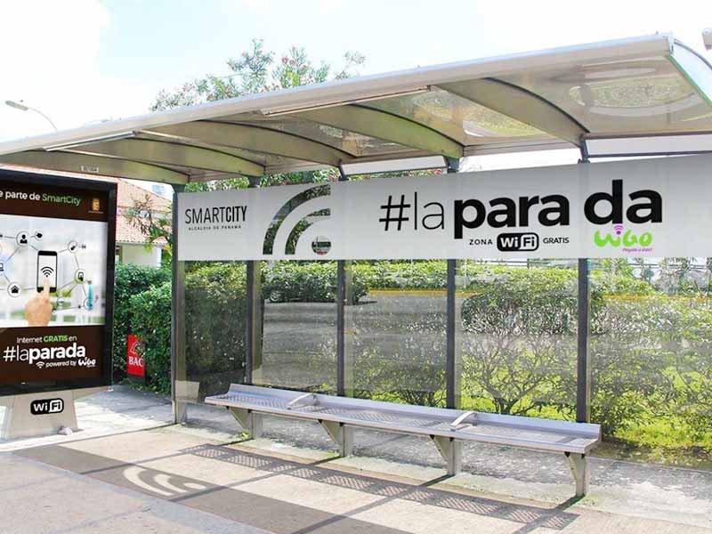 YEROO-High-quality Smart Bus Stop | Smart City Smart Metal Bus Stop Shelter -20
