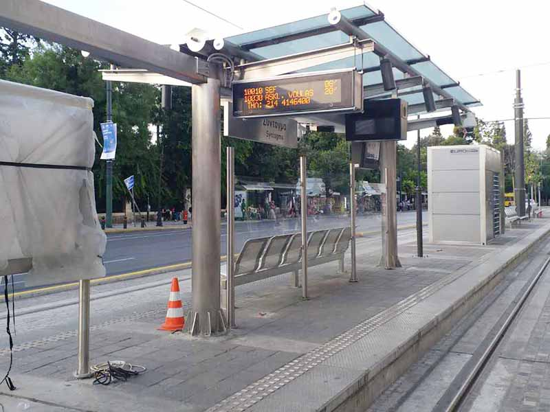 YEROO-High-quality Smart Bus Shelter | Outdoor Bus Stop Forecasting Information-23