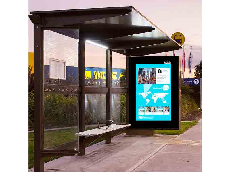 YEROO-Best Interactive Bus Shelter Outdoor Suburb Bus Shelter Yr-bs-0006 Manufacture-23