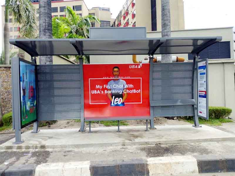 YEROO bus stop shed bulk supply for outdoor advertising-21