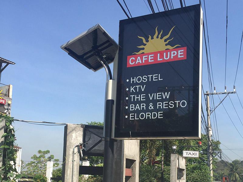 Philippines solar light box