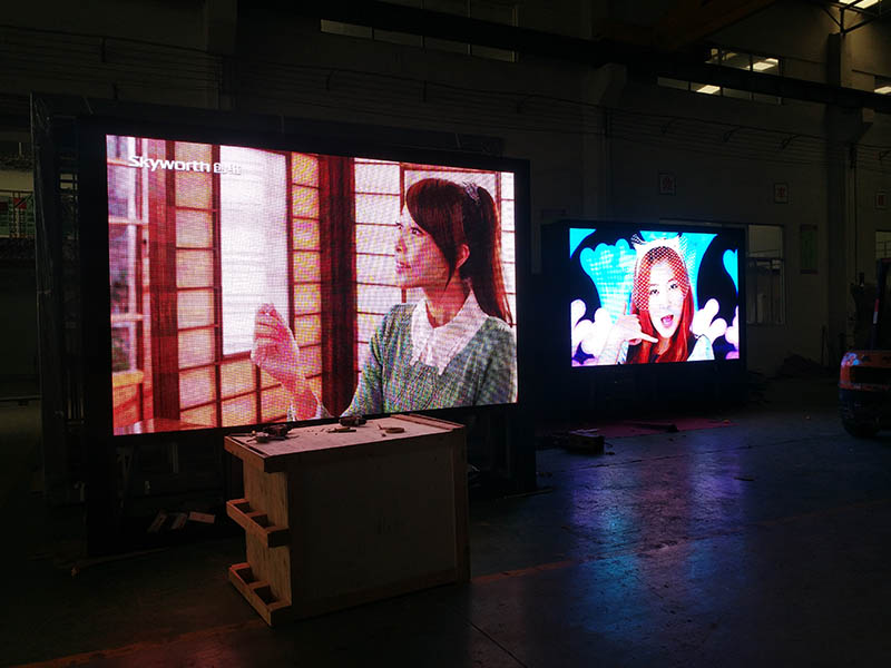 Outdoor double sided led screen display digital light box YR-DLB-0001-20