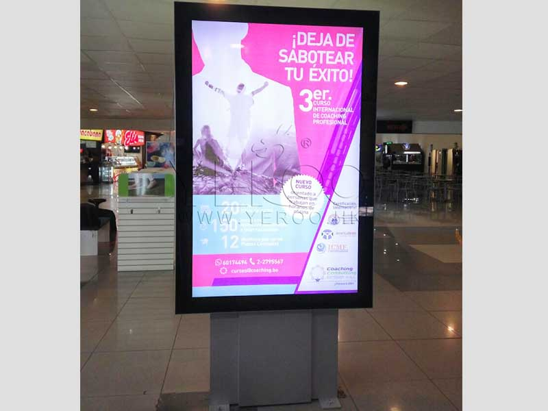 YEROO-Mupi Digital, Lamp Post Advertising Digital Led Screen Display-27