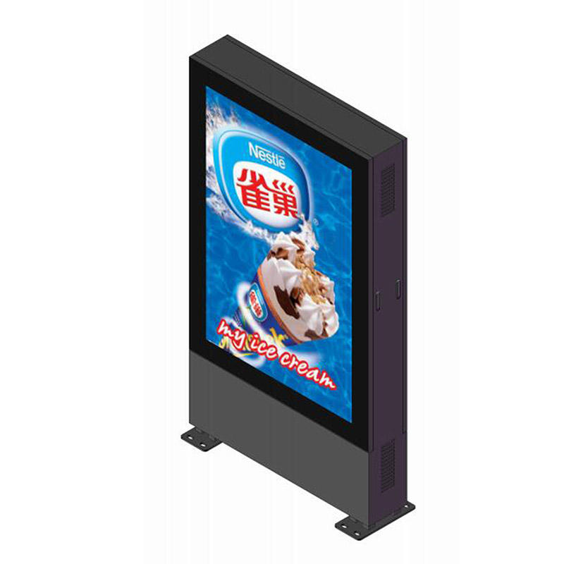 YR-DLB-0001 Outdoor double sided led screen display digital light box