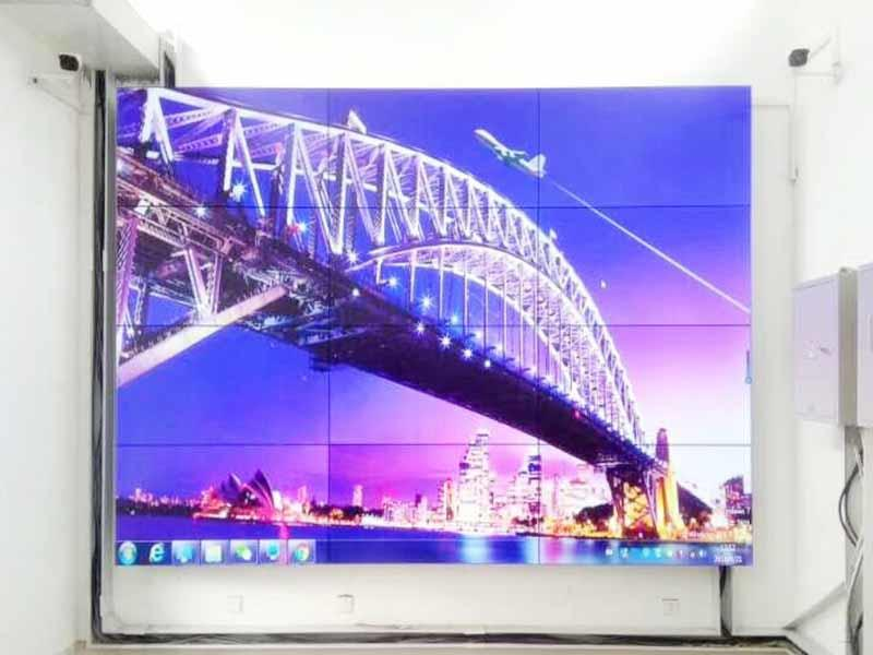 fast-installed wall screen video outdoor ad YEROO