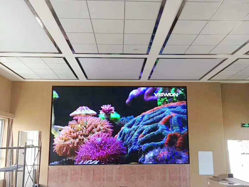 fast-installed wall screen video outdoor ad YEROO-14