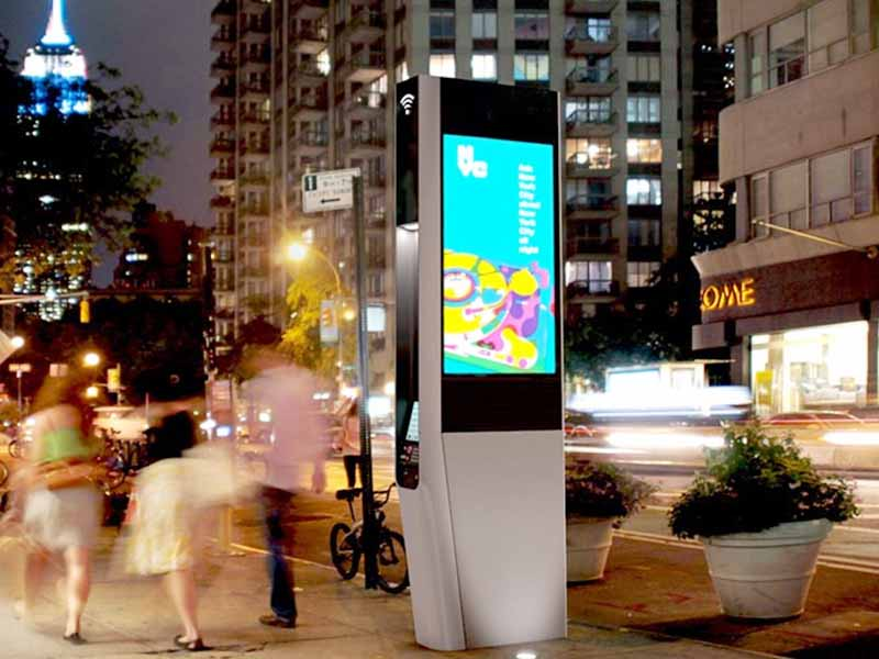 YEROO-High-quality Digital Kiosk | Outdoor Floor Standing Touch Lcd-13