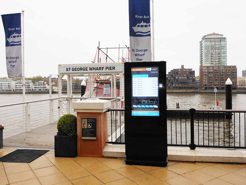 YEROO-High-quality Digital Kiosk | Outdoor Floor Standing Touch Lcd-14