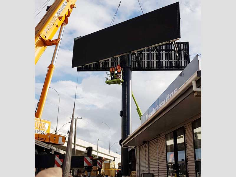 YEROO-Advertising Solar Powered Billboard Outdoor Single Side Led Screen Billboard-31