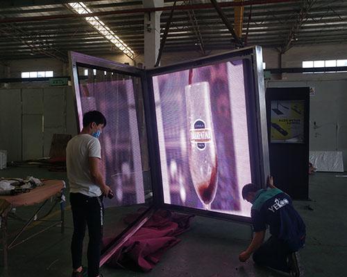 YEROO-Advertising Solar Powered Billboard Outdoor Single Side Led Screen Billboard-23