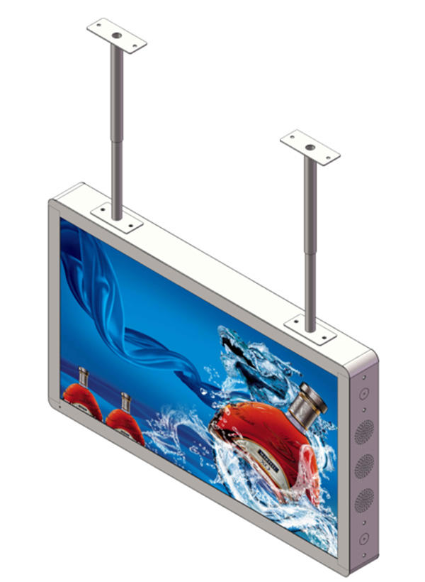 removable structure lcd advertising player top brand for store