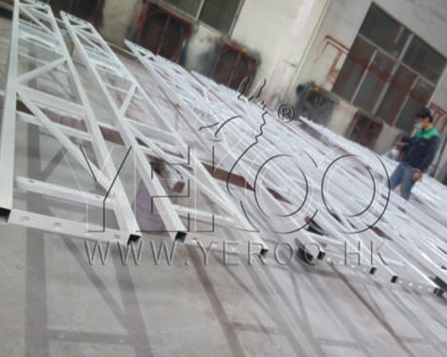 convenient advertising backlit billboard steel structure for highway YEROO-23