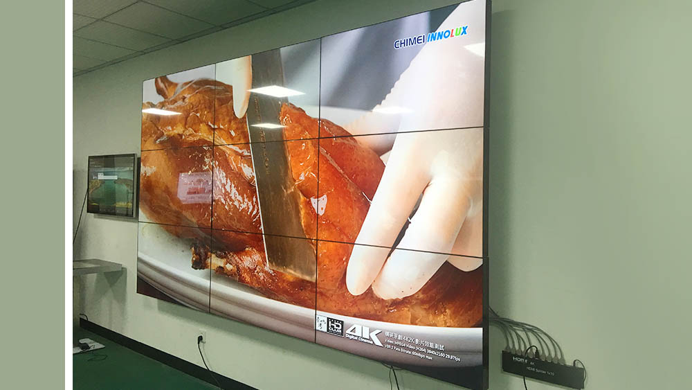 fast-installed wall screen video outdoor ad YEROO-7
