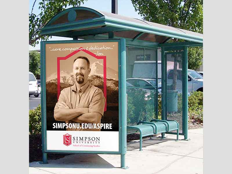 YEROO-Bus Stop Shelter, Outdoor Stainless Steel Advertising Bus Shelter-25