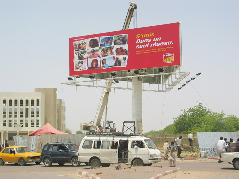 YEROO-Billboard Structure | Outdoor Advertising Steel Four Sides Front-light-29