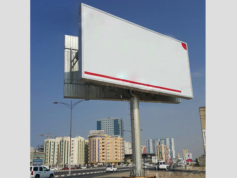 convenient advertising backlit billboard steel structure for highway YEROO-24