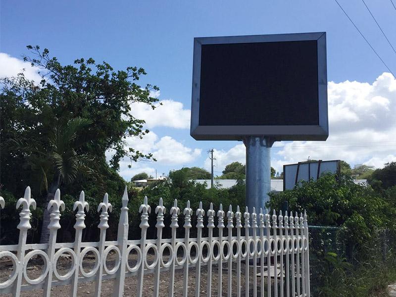 YEROO-Advertising Solar Powered Billboard Outdoor Single Side Led Screen Billboard-26
