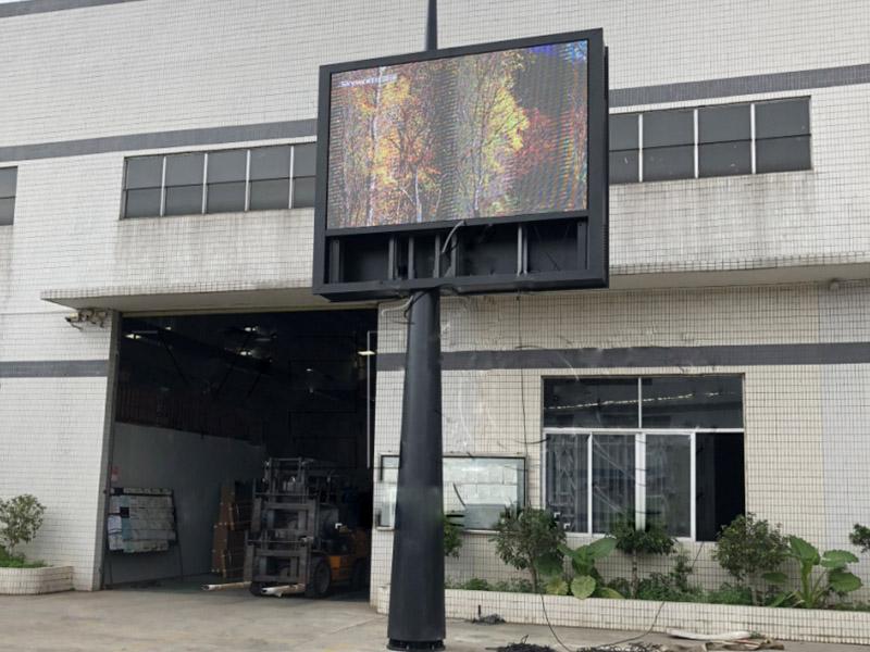 YEROO-Advertising Solar Powered Billboard Outdoor Single Side Led Screen Billboard-30