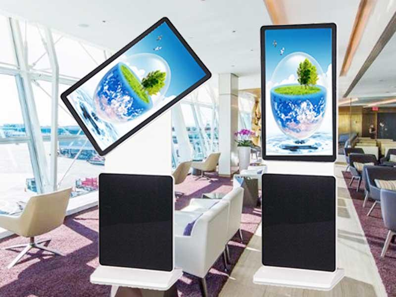 indoor customized 65inch lcd screen advertising display