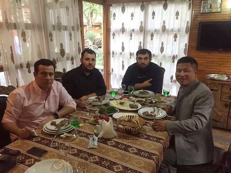 YEROO-April 2016, Yeroo Visited Kuwait And Azerbaijan,agency cooperation-1