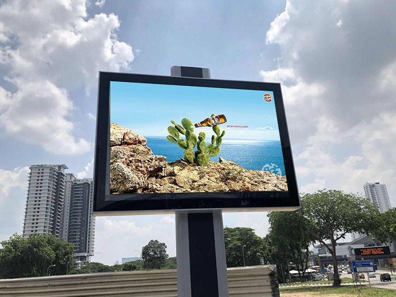 Malaysia single side scrolling billboard