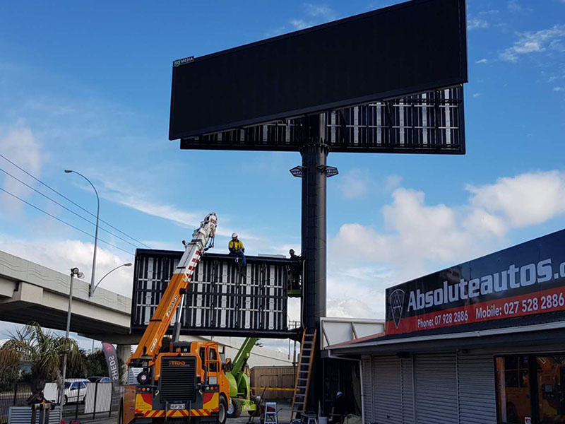 New Zealand LED billboard