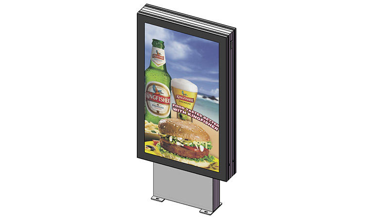 led light box panels fast delivery for street ads-1