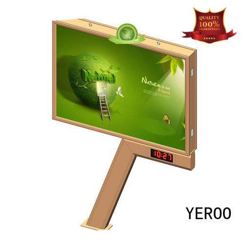 convenient outdoor billboard convenient for highway YEROO